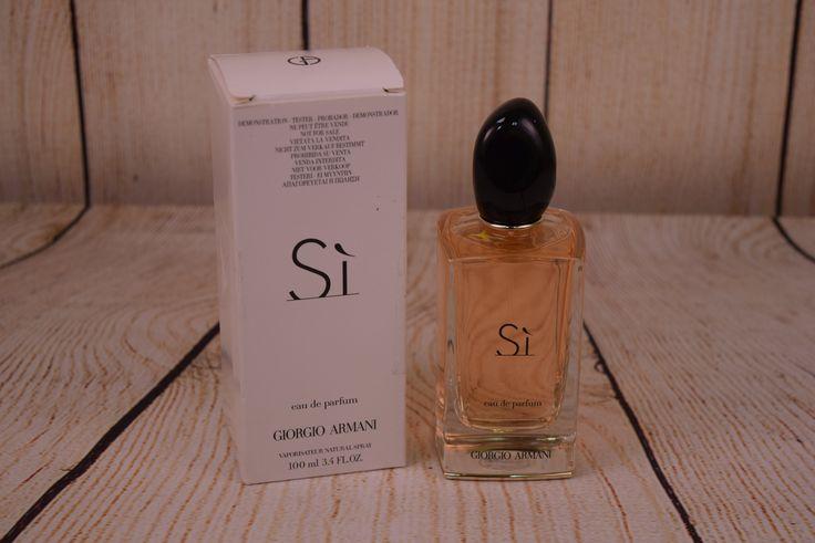 Si by Gorgio Armani 3.4 fl oz Unused Perfume Tester