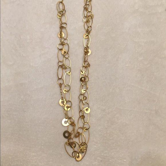 Premier Designs necklace Premier Designs gold tone two strand necklace. Premier Designs Jewelry Necklaces