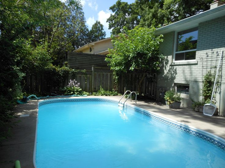 Heated pool, perfect for a quiet swim or entertaining a crowd