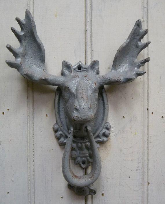 19 Best Moose Door Knocker Images On Pinterest Door