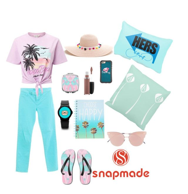 """Snapmade-beach"" by guruolivella on Polyvore featuring moda, J Brand, Miss Selfridge, MAC Cosmetics y So.Ya"