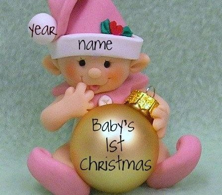 Babys First Christmas Ornament Personalized Baby S 1st