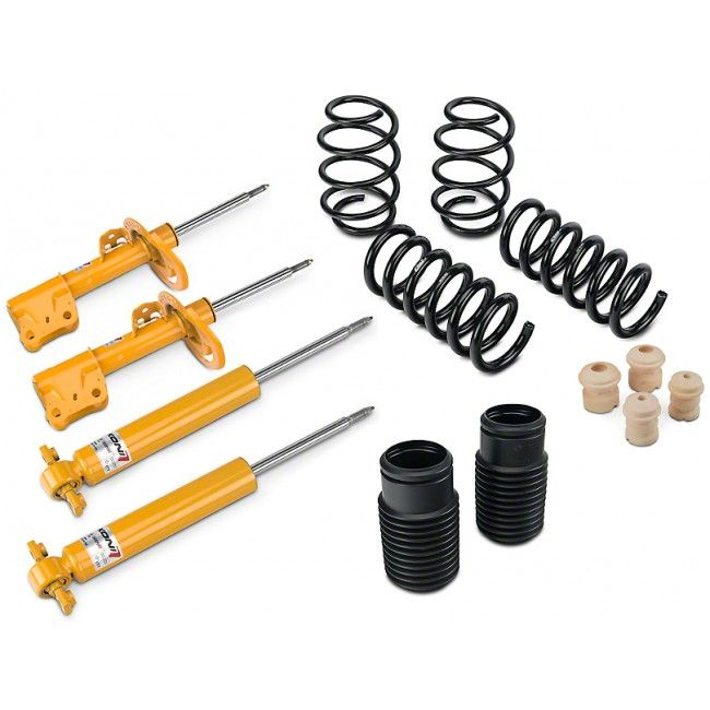 Koni Suspension Kit, 2015-2017, Shock, Strut and Eibach Pro Kit Springs, V8