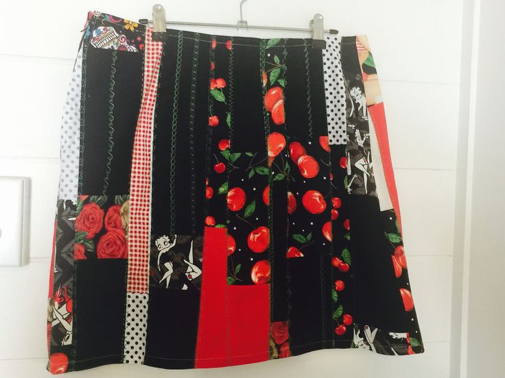 Up cycled skirt
