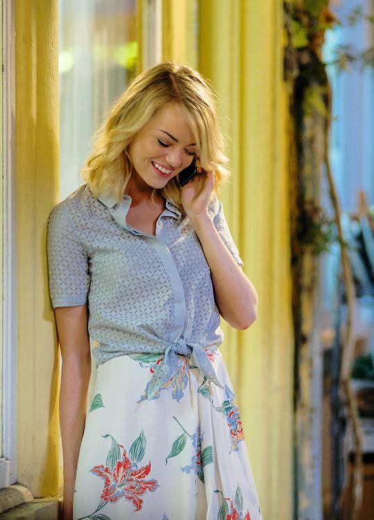 """Emma Stone in """"Aloha""""."""