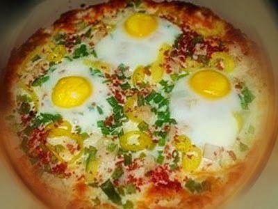 Эликсир молодости: Домашняя (антисанкционная) пицца с яйцами