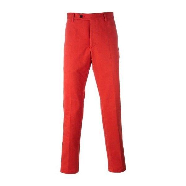 Рыжие брюки