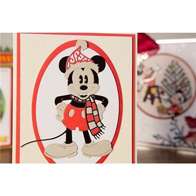 Disney Vintage Ornate Mickey Die (376341) | Create and Craft
