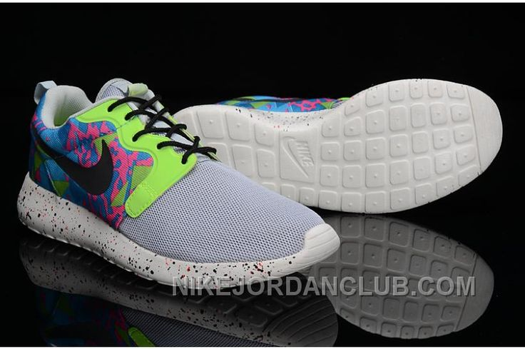 meet 59fc4 2028b http   www.nikejordanclub.com mens-nike-roshe-run-hyp-qs-3-m-running -shoes-gray-green.html MENS NIKE ROSHE RUN HYP QS 3 M RUNNING SHOES GRAY  GREEN …