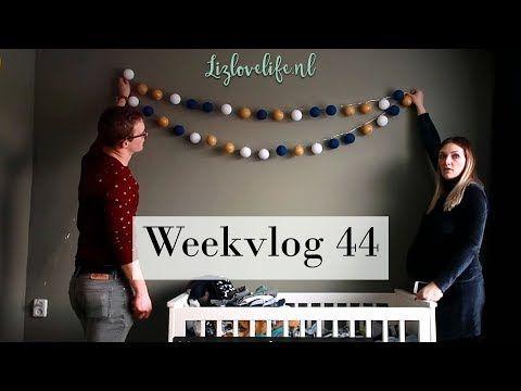 Weekvlog 44 | De finishing touch aan de babykamer | Lizlovelife - Lizlovelife
