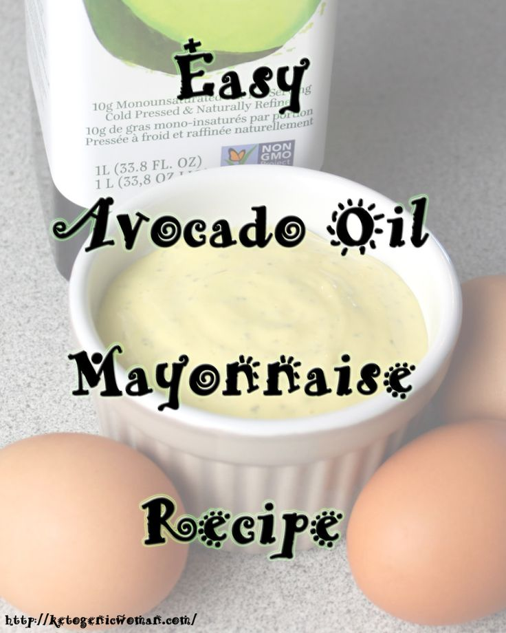 If you are concerned about the oils used in store bought mayo, then you need to try this easy avocado oil mayonnaise recipe! #eggfast #keto