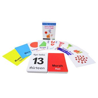 Belanja Kartu Bayi Seri 4- Warna/Bentuk/Huruf/Angka - Flash Card Edukatif Indonesia Murah - Belanja Mainan Edukatif Anak di Lazada. FREE ONGKIR & Bisa COD.