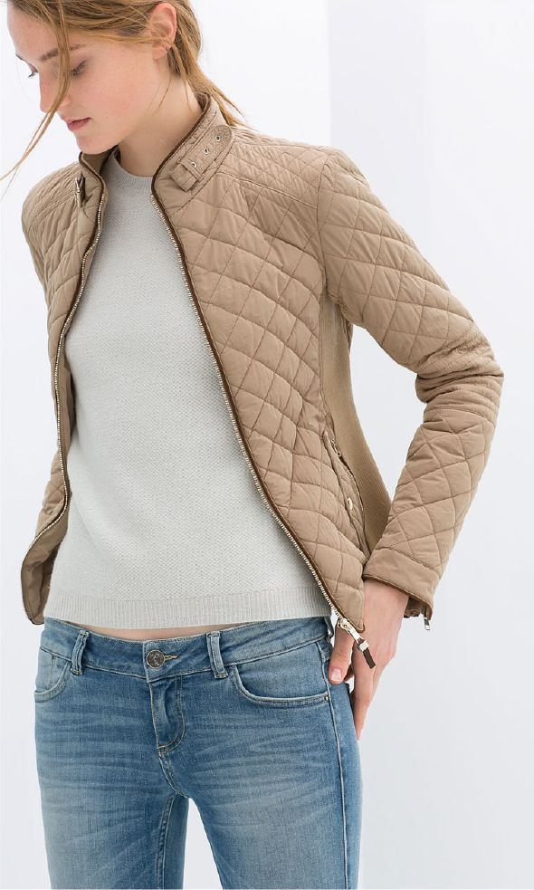 25  best Quilted jacket ideas on Pinterest | Burberry quilted ...