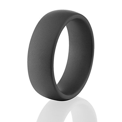 Black Military Matte Ceramic Rings, Black Mens Wedding Bands - http://www.loveuniquerings.com/triton-rings/black-military-matte-ceramic-rings-black-mens-wedding-bands-4/