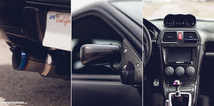 2007 Subaru WRX STI on Advan RG-D wheels. | Photos by Elvis Skender exclusively for - STANCENATION.