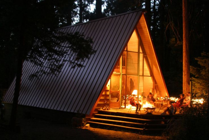 Idyllcreek a frame vacation cabin southern california for Cabin rentals in southern california