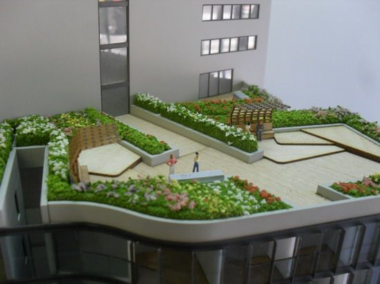 1:150 Landscaping.  Architectural Model by Modelcraft (NSW) Pty Ltd