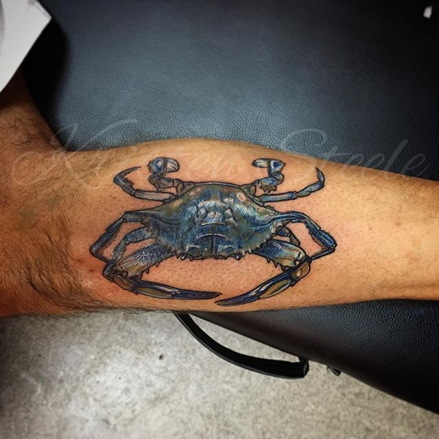 The 25 best crab tattoo ideas on pinterest cancer crab for Maryland tattoo ideas