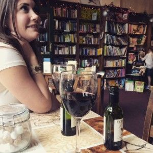 In Dublin: Have a coffee or glass of wine at The Winding Stair and immerse yourself in books!