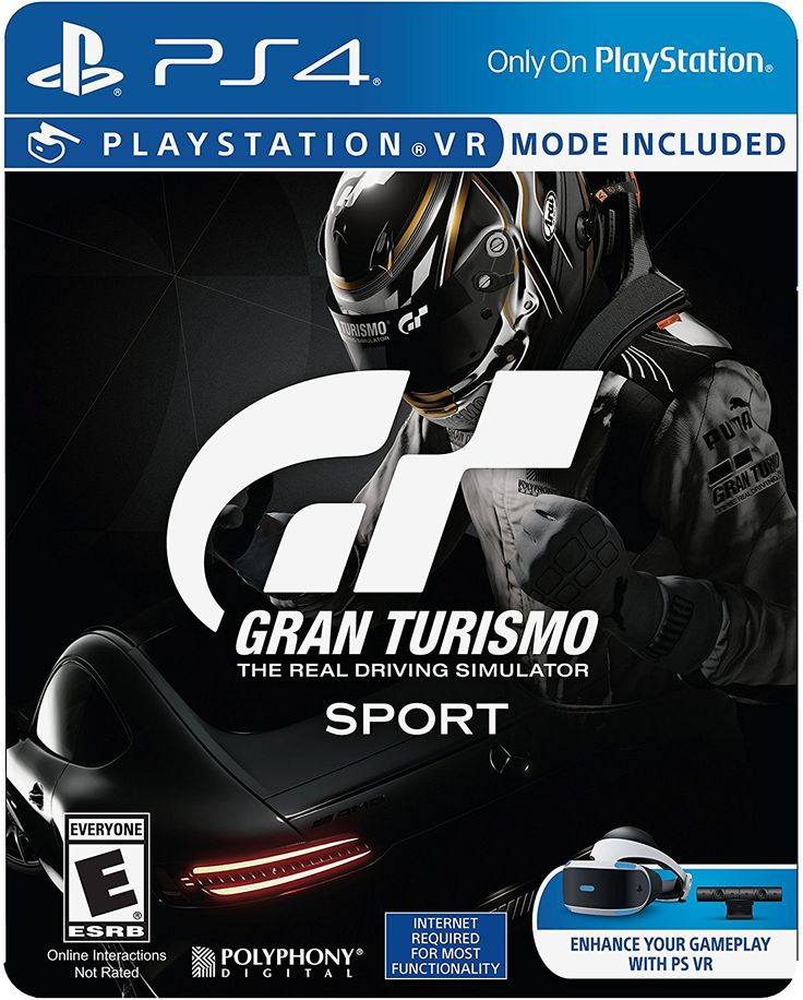Gran Turismo Sport Game Cover PS4 Limited Edition