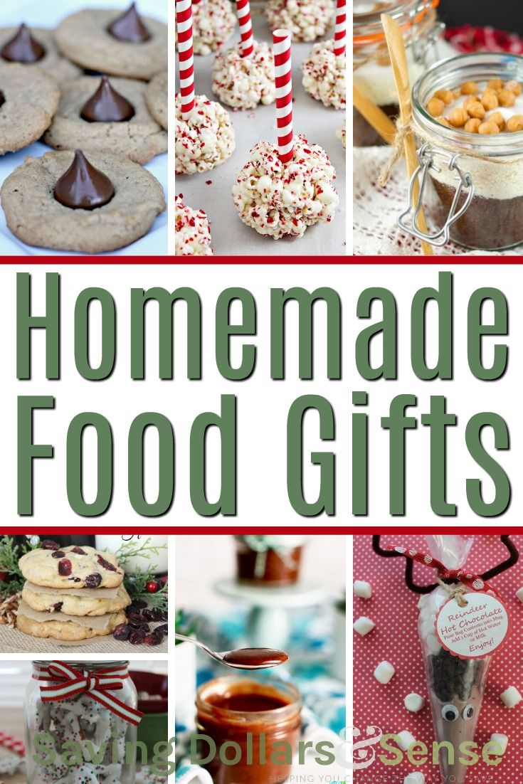 The Best Homemade Food Gifts   Redoing my pinterest   Pinterest ...