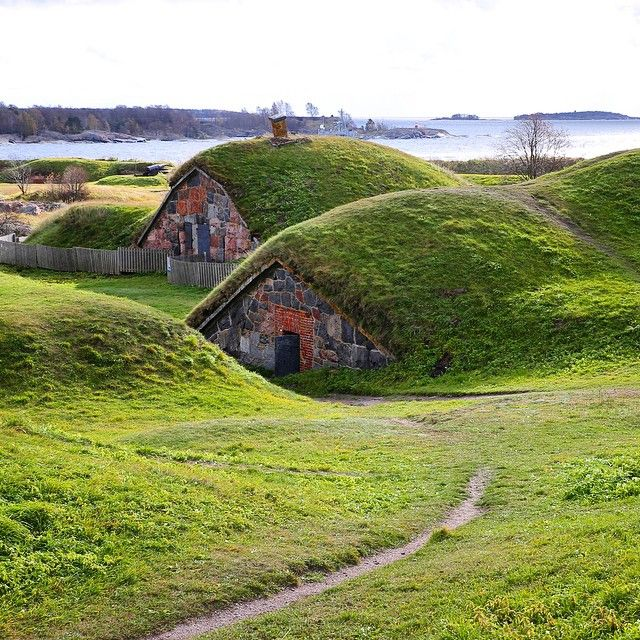 Fortress of Suomenlinna, Helsinki, Finland. Photo courtesy of jeapsri on Instagram.