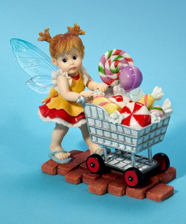 Look at this #zulilyfind! Shopping Cart Fairie Figurine by My Little Kitchen Fairies #zulilyfinds