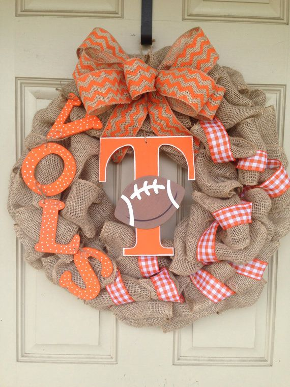 University of Tennesee volunteers football by SouthernCharmAccents, $60.00