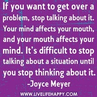 Joyce Meyer Quotes - Bing Images: Thoughts, Stop Talk, Famous Quotes, True Quotes, Remember This, Joycemeyer, Mouths, Joyce Meyer, Finding Peace