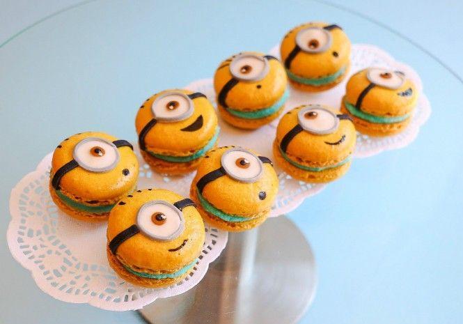 Macarons Minions