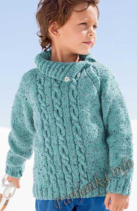 Пуловер с воротником на кнопках (д) 913 Creations 2014/2015 Bergere de France №4304