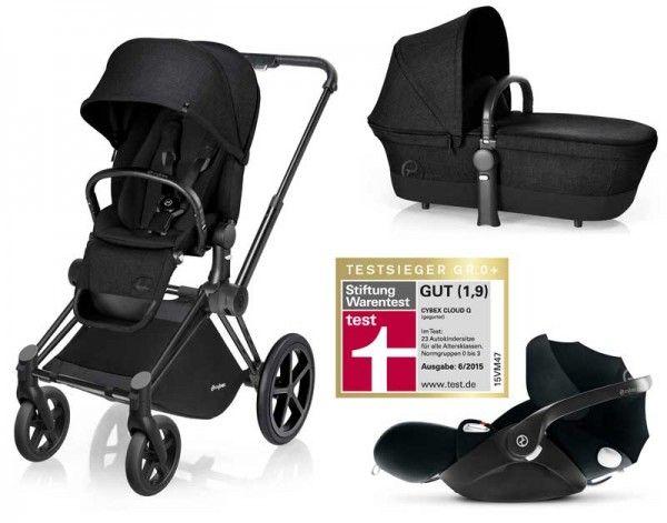 9 best schwarze kinderwagen images on pinterest. Black Bedroom Furniture Sets. Home Design Ideas
