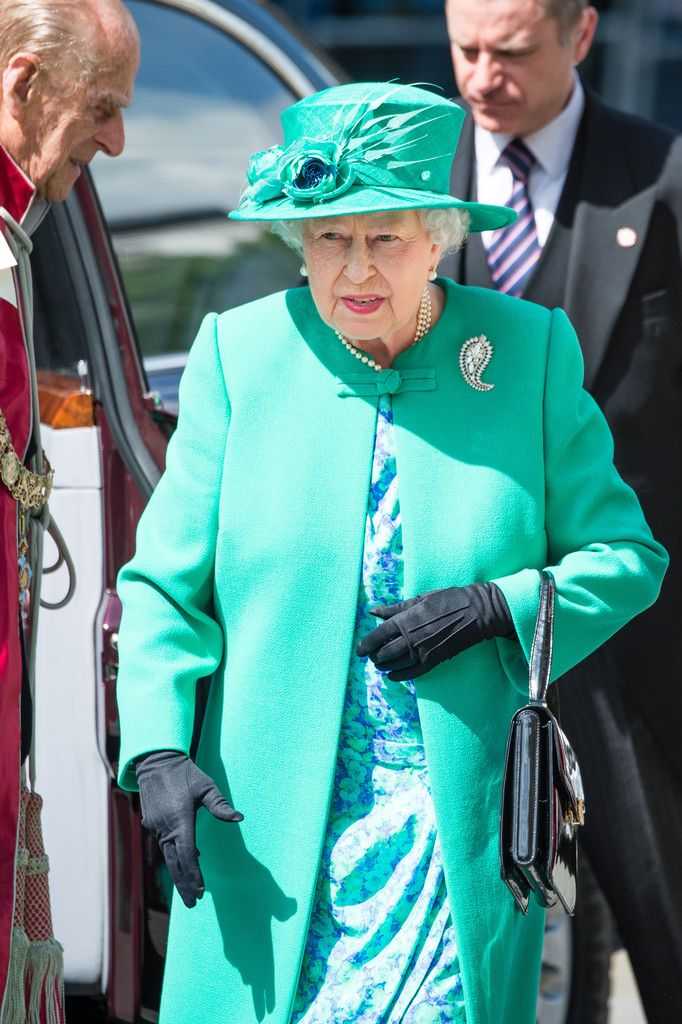 Queen Elizabeth II Photos Photos - The Queen and the Duke of Edinburgh Attend a Service at St Paul's Cathedral to Mark the Centenary of the Order of the British Empire - Zimbio