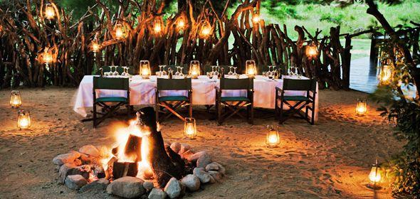 Luxury bush lodge