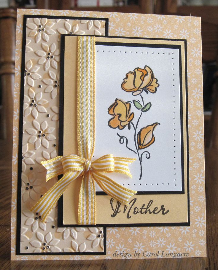 love the design.... would make a great sympathy card