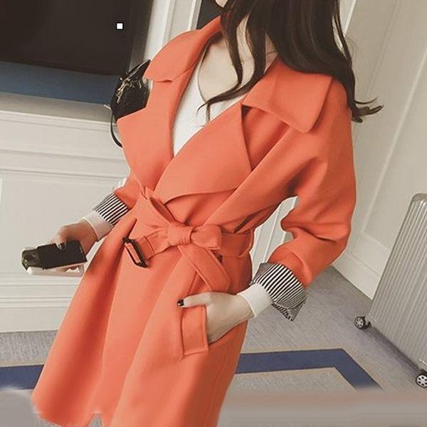 #orange #trençkot japon style modeller