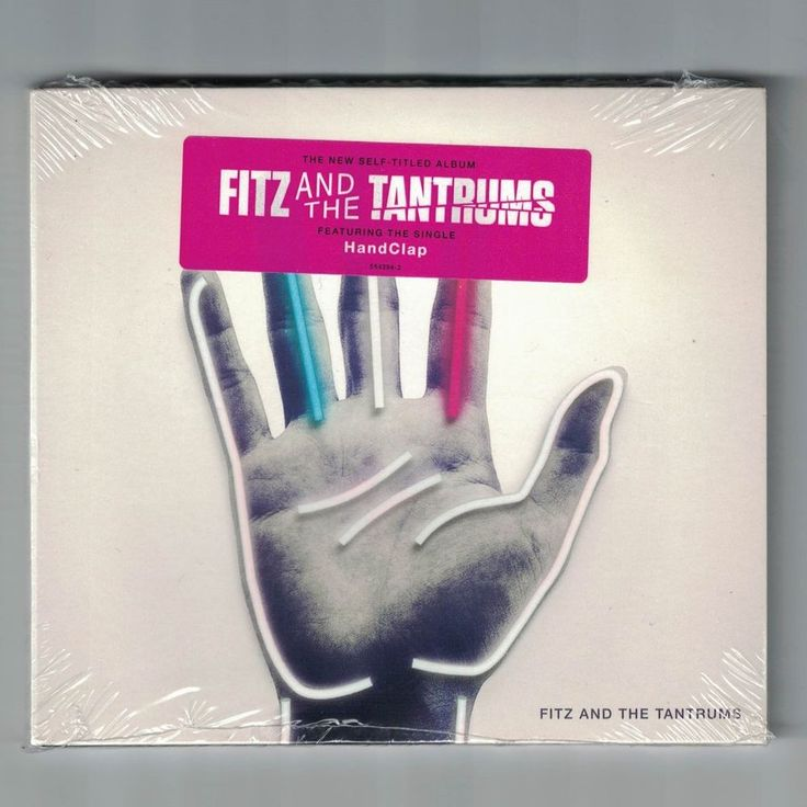 Fitz and the Tantrums Handclap CD new scelled