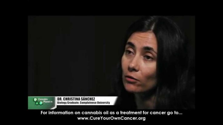 Dr.Christina Sanchez explains how cannabis kills cancer cells (MORE at cureyourowncancer.org)
