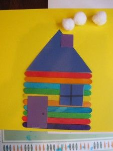 21 best my home theme images on pinterest kid activities preschool and crafts for kids - Brick houses three beautiful economical projects ...