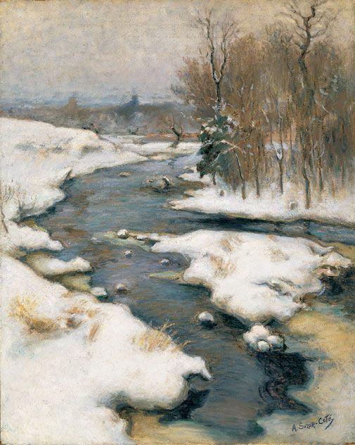 Marc-Aurèle de Foy Suzor-Coté - La rivière Gosselin à Arthabaska