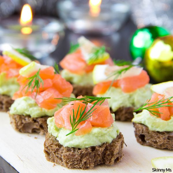 Salmon Avocado Bites