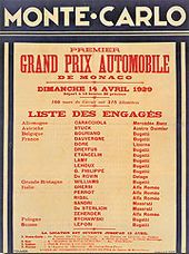Monaco Grand Prix - Wikipedia, the free encyclopedia