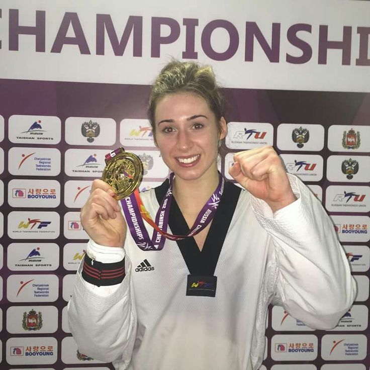 Bianca Walkden, Team GB and 2015 World Kyorugi Champion.