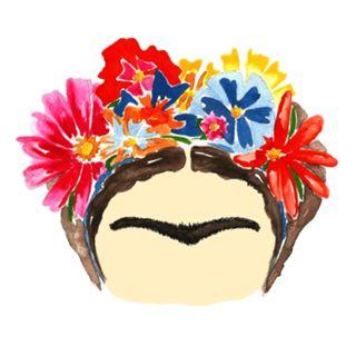 Adesivo Frida Pop do Studio Mariela por R$20,00