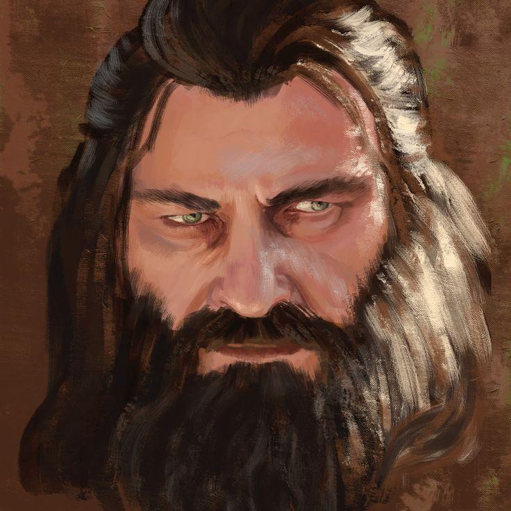 Blackbeard (fan-art by Nicolás Navarro)