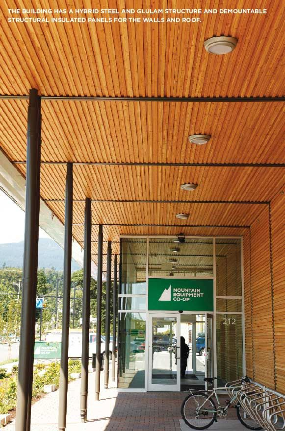 2014 AWARD-WINNING PROJECT: Mountain Equipment Co-op Store, North Vancouver…