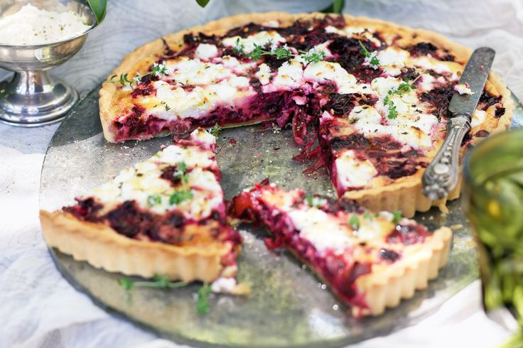Turn an alfresco lunch into a lavish occasion with this make ahead beetroot & goat's cheese tart.