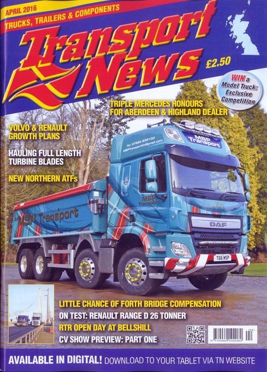 Buy Transport News Magazine Turkey | British Magazines from Newsstand | Other Trade
