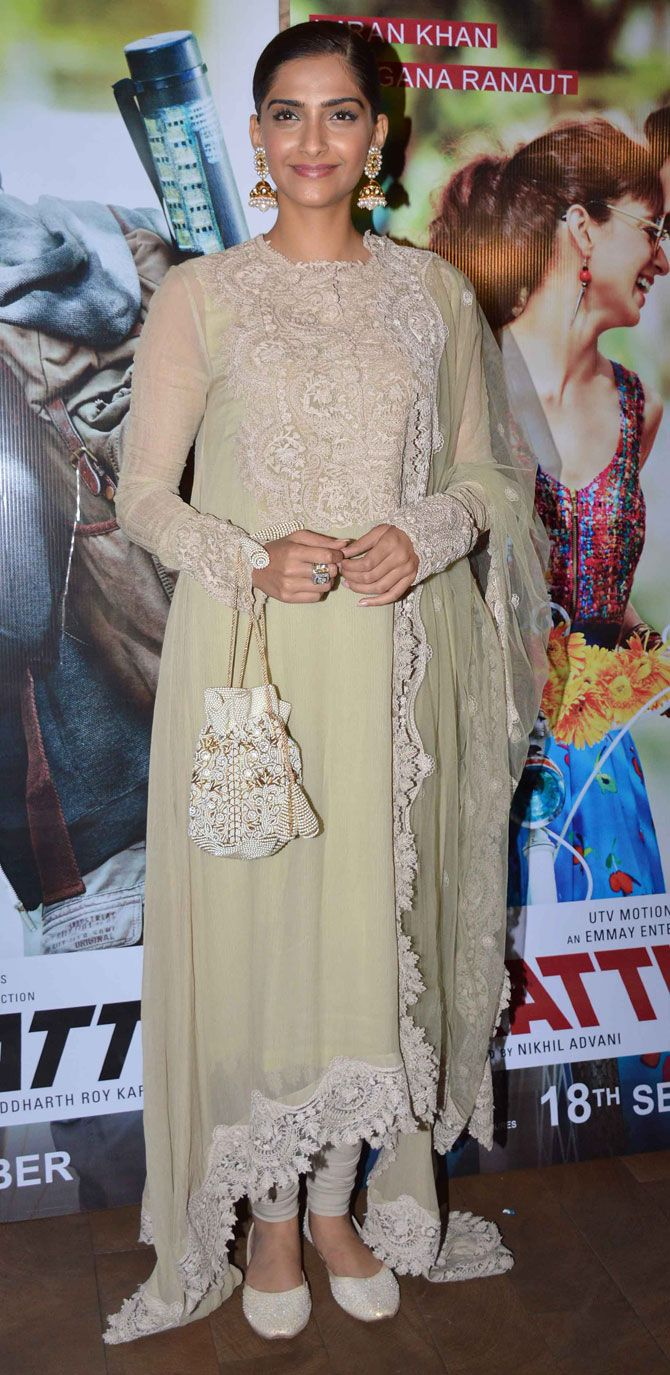 Sonam Kapoor at the screening of #KattiBatti.