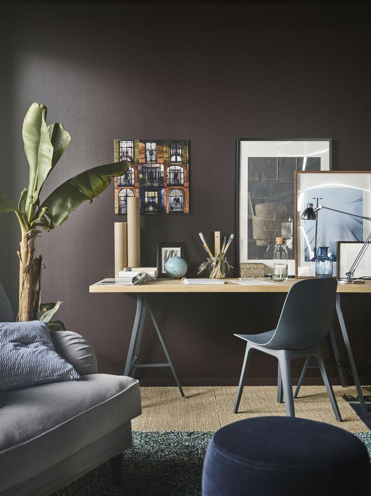 25 beste idee n over schraag bureau op pinterest studio for Kantoor interieur inspiratie